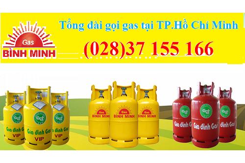Cửa hàng Gas Bình Minh Quận 11